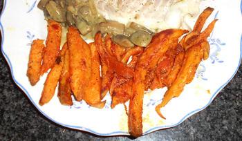 Zoete aardappelen: bataat in de oven gebakken 4