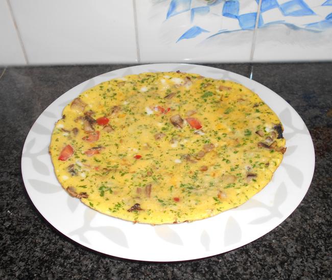 Champignon-omelet 1