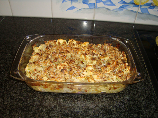 Pasta met venkel, witloof, kaas en noten 1