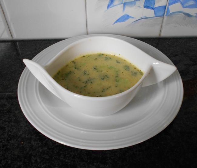 Witloof - broccolisoep 1