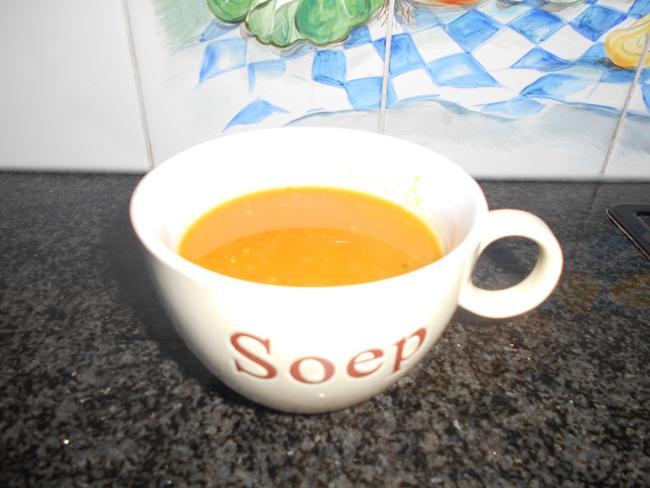 Wortelsoep met paprika 1