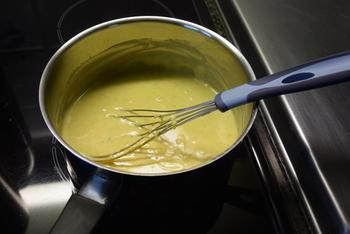 Bloemkool met kerriesaus, kipfilet en gebakken aardappelen 5