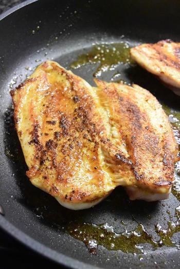 Bloemkool met kerriesaus, kipfilet en gebakken aardappelen 8