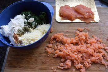 Cannelloni met ricotta en spinazie en gerookte zalm 2