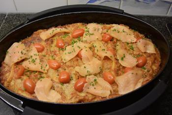 Cannelloni met ricotta en spinazie en gerookte zalm 7