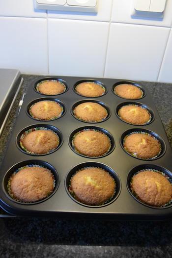 Cupcakes  met chocopasta of speculaaspasta 6