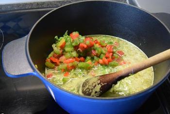 Eenvoudige risotto met zeevruchten 5