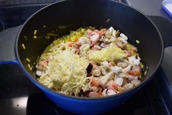 Eenvoudige risotto met zeevruchten 8