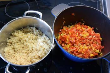 Frisse, vegetarische bulgursalade 5