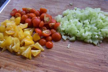 Frisse, vegetarische bulgursalade 6