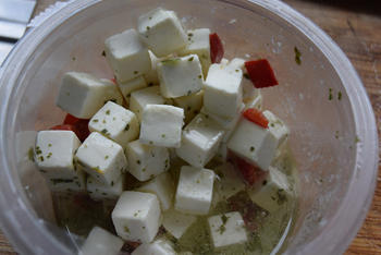 Frisse, vegetarische bulgursalade 8