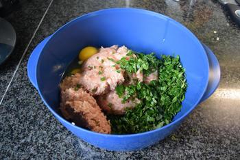 Gevulde, ronde courgettes met quinoa of rijst 5