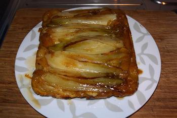 Hartige tarte tatin met witloof en appel 9