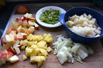 Knolselderroomsoep met appel 2
