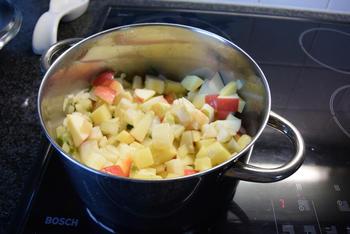Knolselderroomsoep met appel 3