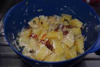 Koude aardappelsla 6
