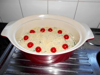 Lasagne met andijvie en grote garnalen of scampi 5