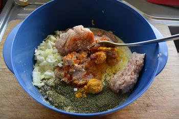 Ovenschotel met gehakt, tomatensaus en aardappelpuree 2