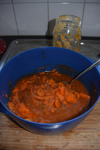 Ovenschotel met gehakt, tomatensaus en aardappelpuree 5
