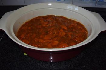Ovenschotel met gehakt, tomatensaus en aardappelpuree 6