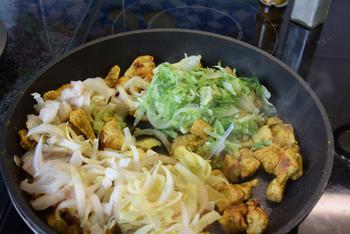 Ovenschotel: pasta met groenten en kalkoenblokjes 7