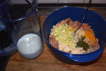 Oventaart van gehakt, spaghetti en tomatensaus 2