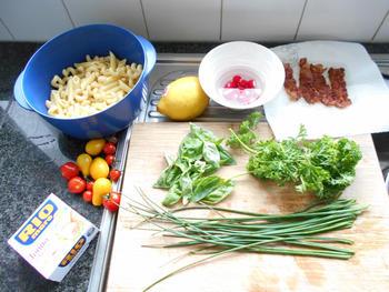 Pasta, prinsesboontjes en tonijn 3
