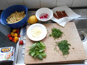 Pasta, prinsesboontjes en tonijn 4