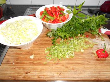 Risotto met groentjes en mosselen 5