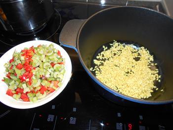 Risotto met groentjes en mosselen 6