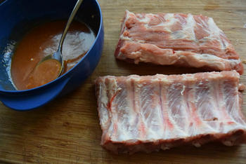 Spareribs langzaam garen in de oven. (slow cooking) 4
