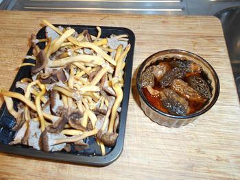 Vegetarische risotto met paddenstoelen 2