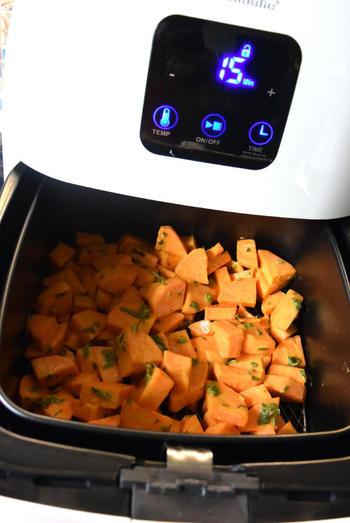 Zoete aardappelen met lamskoteletjes 4