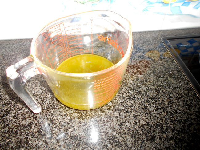 Basilicumolie in blender of in de thermomix 1
