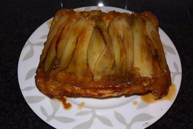 Hartige tarte tatin met witloof en appel 1