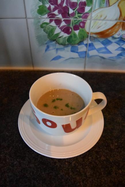 Thermomixgerecht: champignonsoep 1
