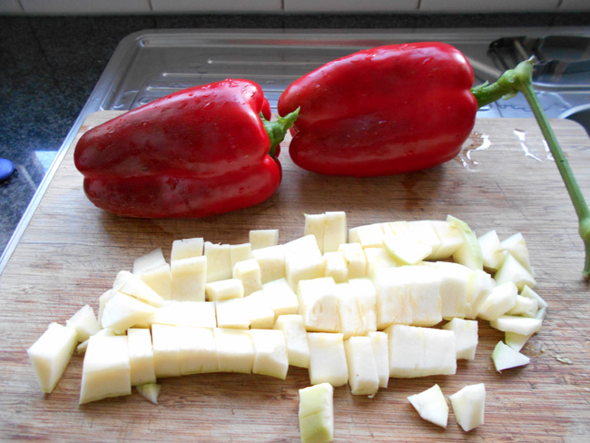 Thermomixrecept: paprika courgettesoep 1