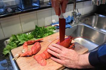 Bisque de homard met stukjes kreeft 3