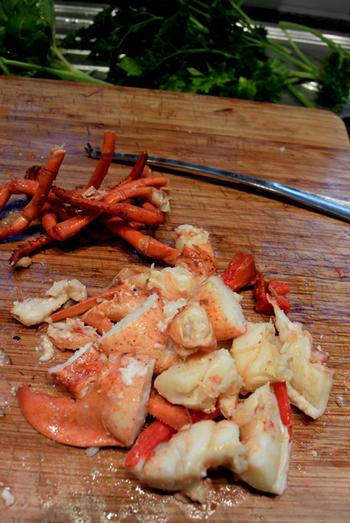 Bisque de homard met stukjes kreeft 5
