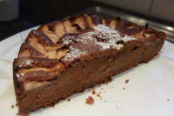 Chocoladecake met peren: recept van Ward 2