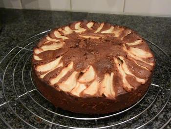 Chocoladecake met peren: recept van Ward 8