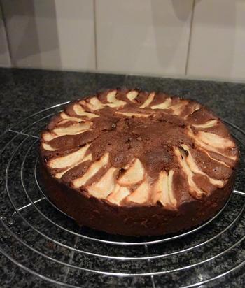 Chocoladecake met peren: recept van Ward 9