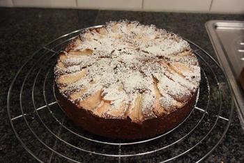 Chocoladecake met peren: recept van Ward 10