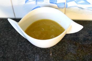 Eenvoudige rode linzensoep met courgette 2