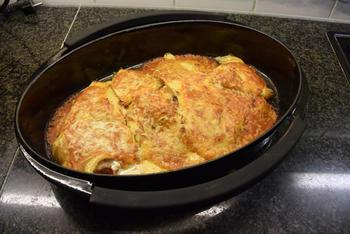 Gevulde pannenkoeken met witloof en ontbijtspek of Vlaamse crespelle 8