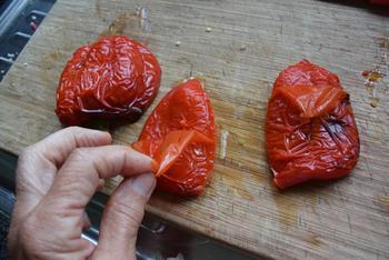 Heerlijke, roergebakken bloemkoolcouscous met paprika en spek 7