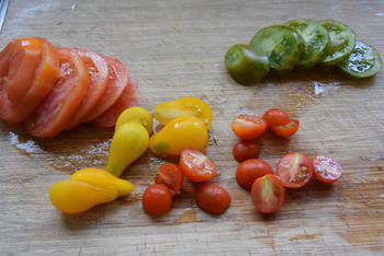Kippenkoteletjes met tomaten 3
