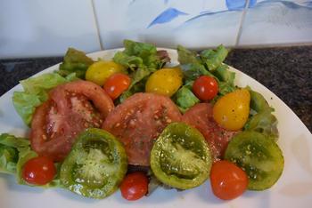 Kippenkoteletjes met tomaten 4