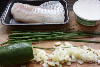 Met vis en courgette gevulde conchiglioni (pastaschelpen) met broccoli-kaassaus 4
