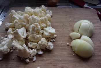 Thermomixrecept: bloemkoolsoep met courgette en mosterd 2